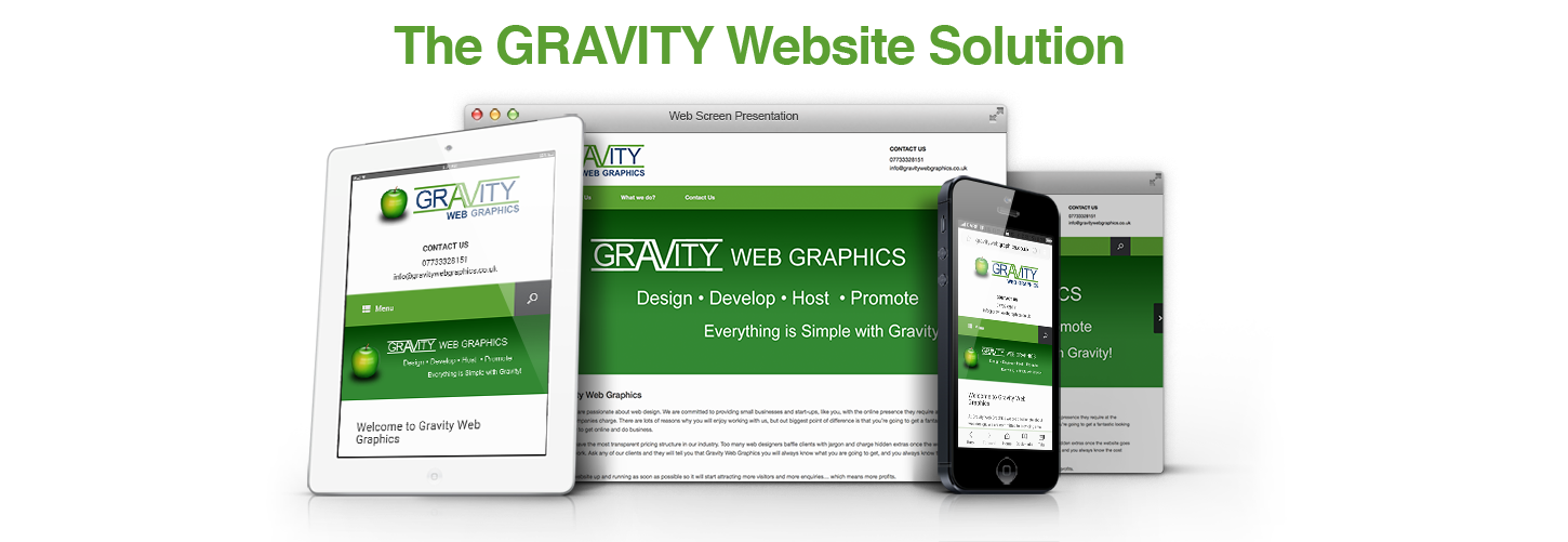THE GRAVITY WEBSITE SOLUTION